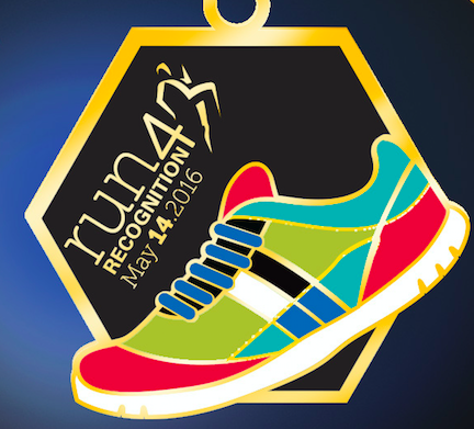 Run for Recognition Finisher Medal