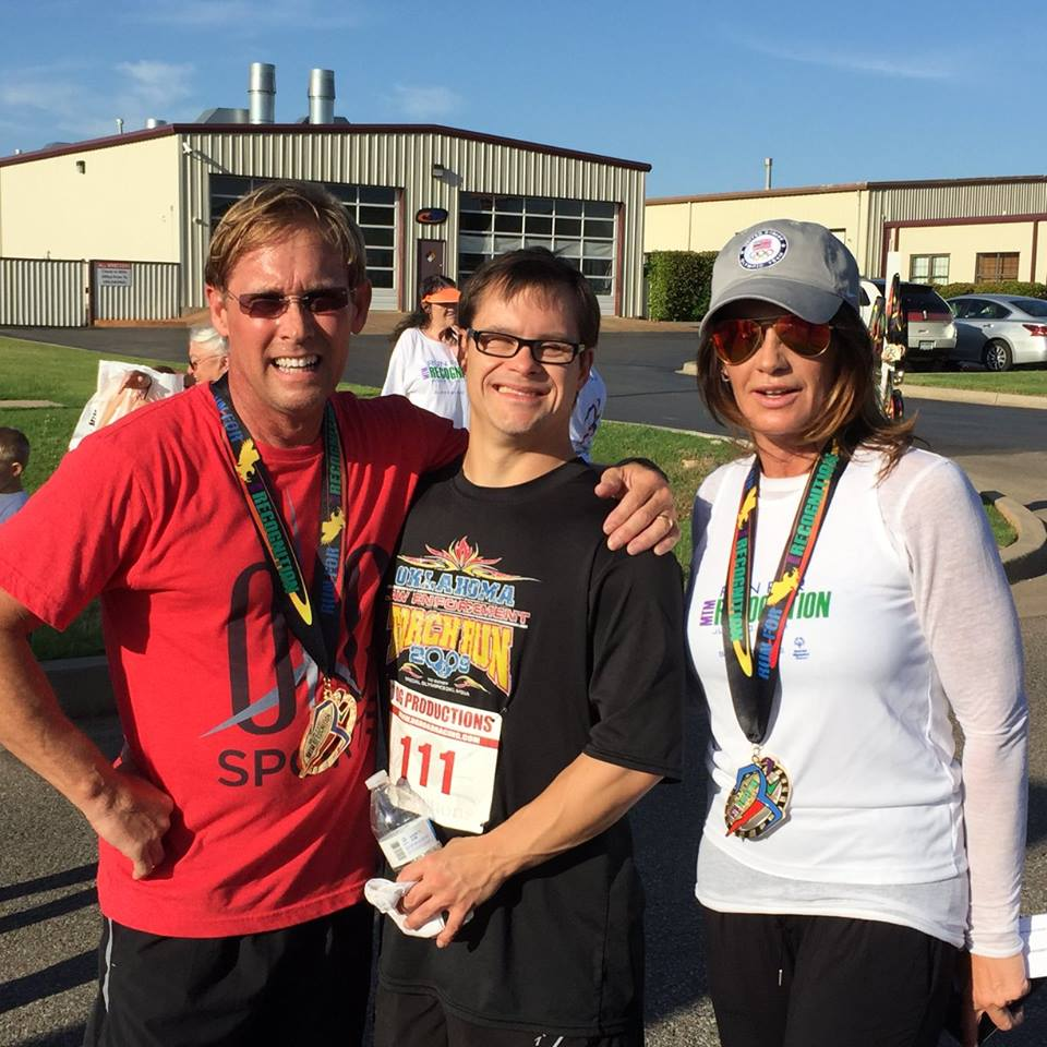 Run for Recognition 2015 - Bart Conner and Nadia Comenici